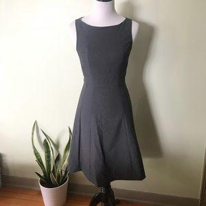 H&M Grey A-Line Dress